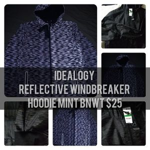 Idealogy Windbreaker Hoodie Large BNWT